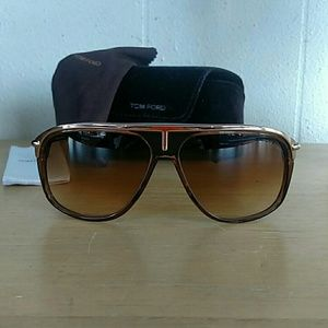 TOM FORD Ford TF3 288 Gold Brown Sunglasses